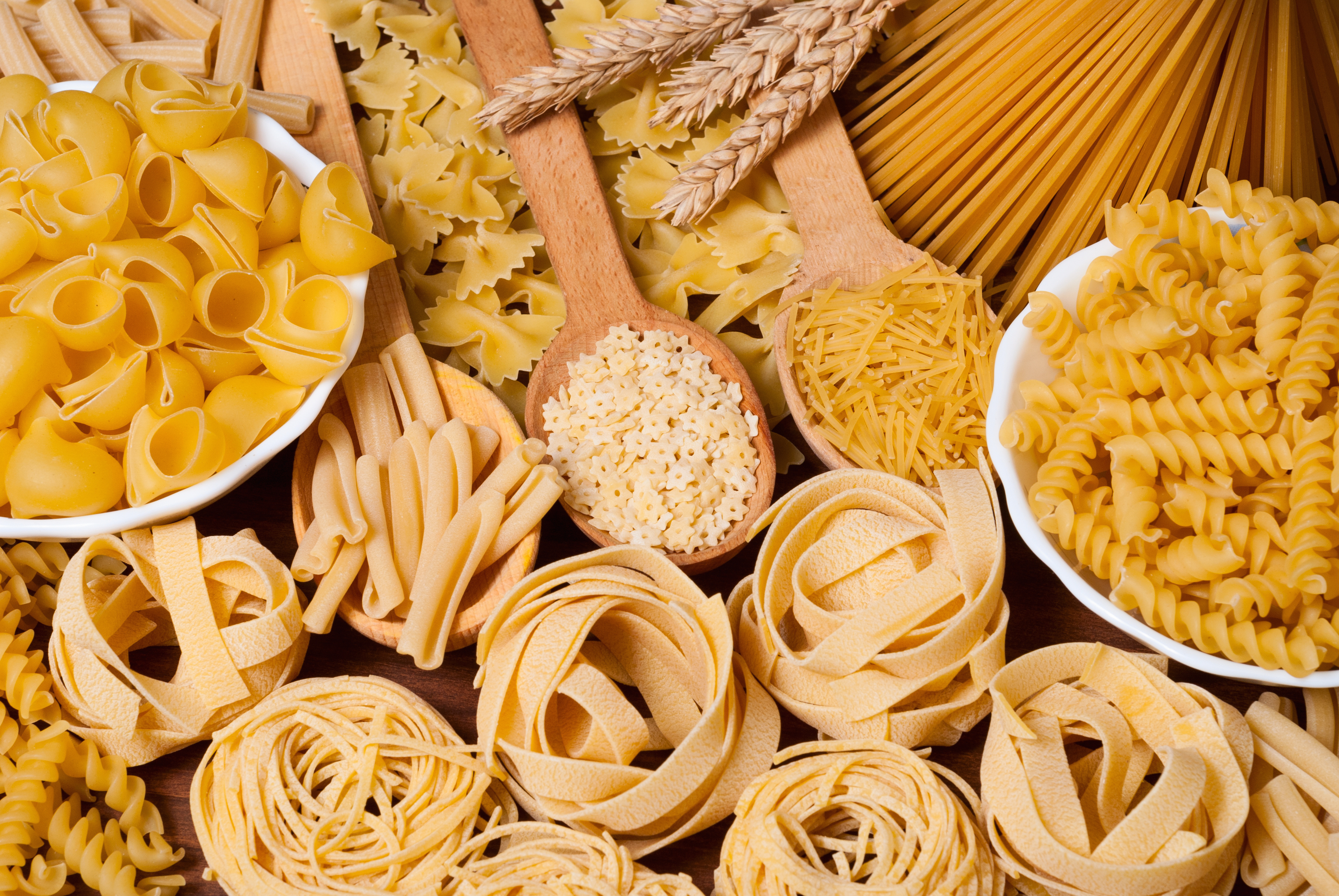 Composition of Pasta .